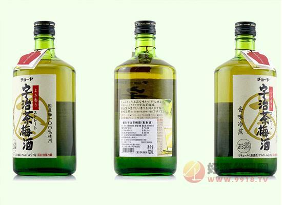 俏雅果酒价格怎么样,俏雅宇治茶梅酒720ml多少钱?