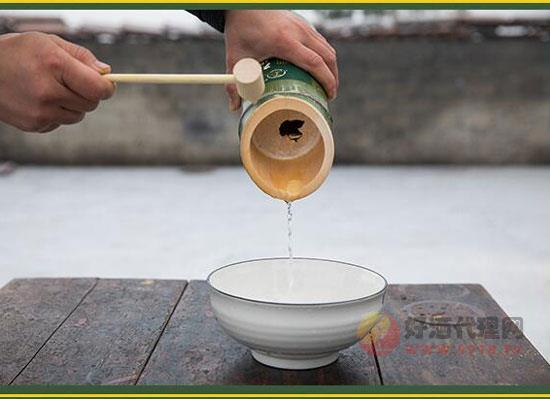 竹筒酒價格貴嗎,湖南原生態鮮活竹子酒價格