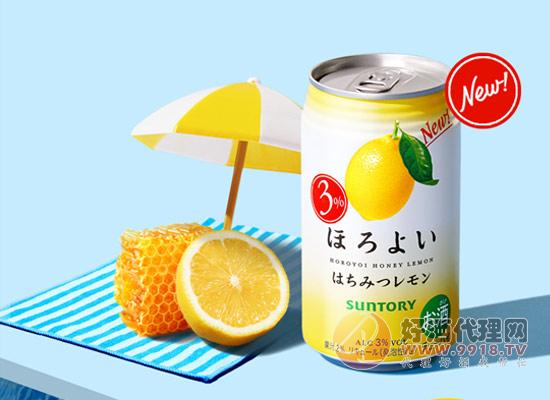 乐怡柠檬味配制酒