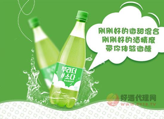 韓國雞尾酒價格貴嗎,韓國寶海蘋果味雞尾酒多少錢?