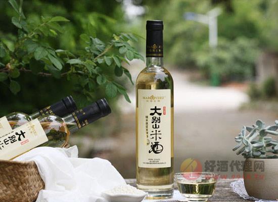 大別山米酒多少錢,大北山玫瑰至尊米酒490ml價格