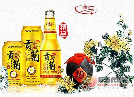 黄山质宝贡菊养生酒