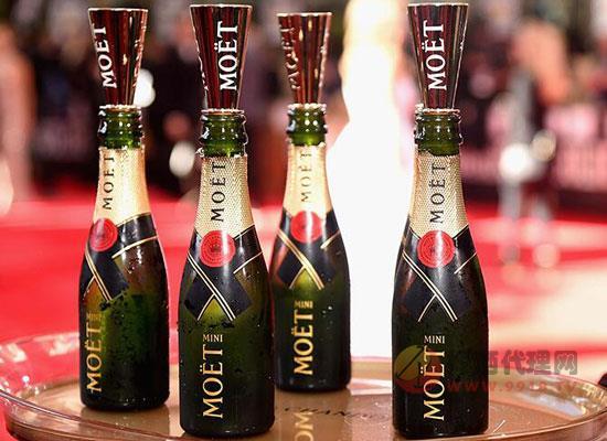 进口小瓶洋酒贵吗,酩悦迷你香槟酒价格