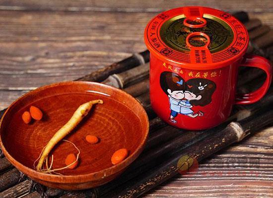 东旺大茶缸多少钱一杯,东旺大茶缸人参酒价格