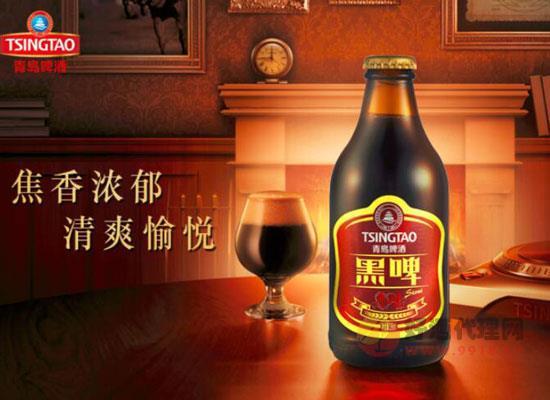 青島黑啤酒多少錢一箱,青島黑啤棗味價格