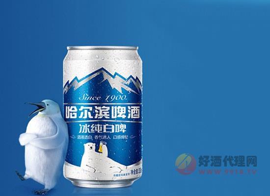 哈尔滨啤酒怎么样,哈尔滨听装冰纯白啤好喝吗