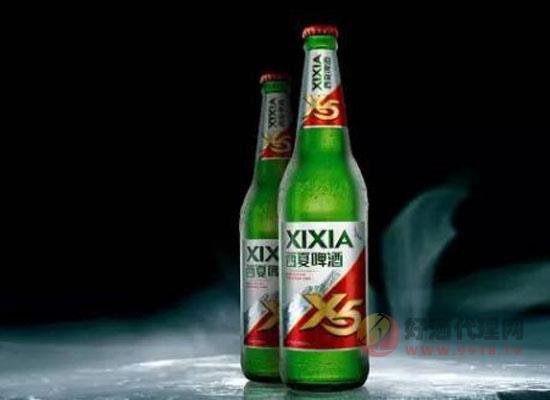 西夏啤酒x5一箱多少钱,宁夏西夏夺命x5价格