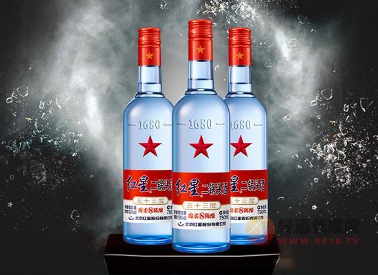 紅星二鍋頭酒多少錢,紅星二鍋頭綿柔8陳釀53度價格