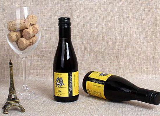 慕獅王子干紅葡萄酒多少錢,慕獅王子187毫升小瓶酒價格