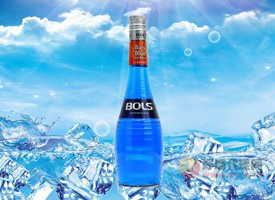 波士藍橙力嬌酒怎么調,自制雞尾酒超easy!