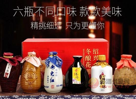绍兴女儿红多少钱,女儿红散装六瓶花雕酒整箱价格