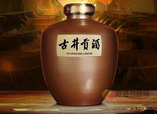 古井貢酒多少錢一壇,古井貢61度壇裝原酒價格