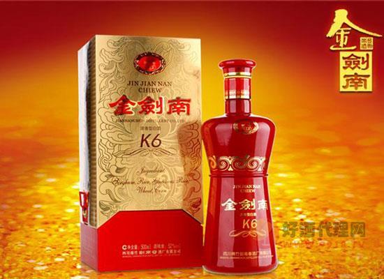 金劍南K6酒怎么樣,金劍南和劍南春一樣嗎