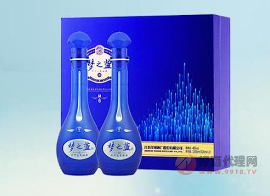 洋河夢之藍m6酒價格 洋河夢之藍m6兩瓶多少錢
