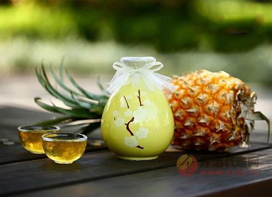 菠蘿酒一般什么價位,蘇羋娘古風菠蘿酒多少錢一瓶
