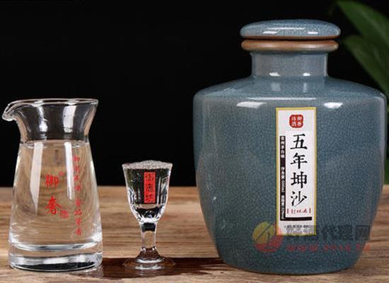 御奢坊坤沙酒多少錢,10年純坤沙醬香型老酒