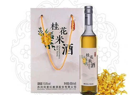 同里紅半甜型桂花米酒多少錢一瓶,經濟實惠口感好