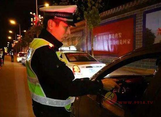 国庆将至,交警叔叔有话说:严禁酒驾、醉驾!