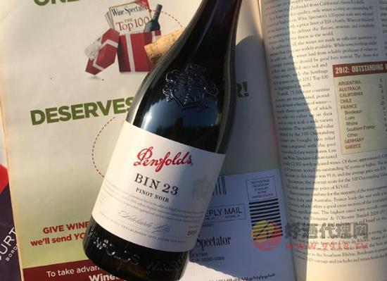 奔富BIN23黑皮諾紅葡萄酒算什么檔次,一瓶多少錢
