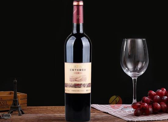 长城窖酿解百纳干红葡萄酒怎么样,多重酿造口感醇厚