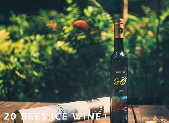 进口酒价格贵吗,加拿大20Bees蜂蜜冰白葡萄酒多少钱一瓶