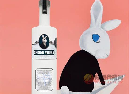 兔兔冷泉伏特加價格貴嗎,多少錢一瓶