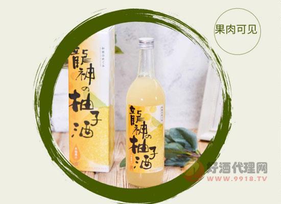 日本進口果酒價格貴嗎,龍神柚子酒詳細價格表
