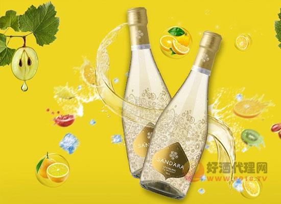 桑德拉甜白起泡酒價格貴嗎,多少錢一瓶