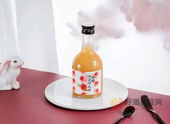 日本一杯飲水蜜桃酒口感如何 ,女士朋友的入門級飲品