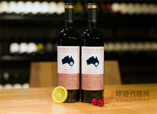 南澳五星干紅葡萄酒價格是多少,一箱價錢