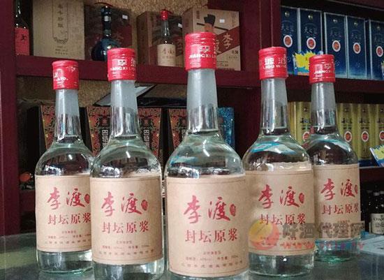 李渡原漿酒價格表,江西李渡封壇原漿60度價格