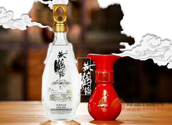 黃鶴樓濃香型白酒52度價格,黃鶴樓酒價格表和圖片