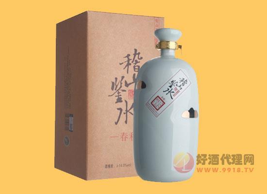 14度稽山鑒水·春秋黃酒多少一瓶,1500ml價格介紹