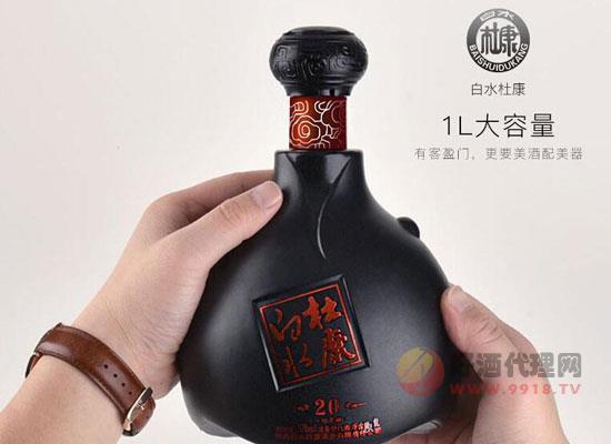 杜康52度濃香型白酒多少錢,52度白水杜康價格圖片