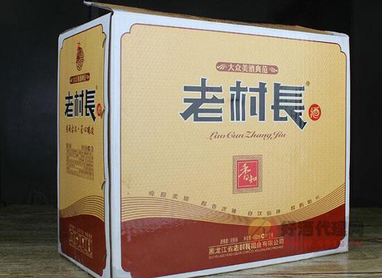 老村长酒40度多少钱一瓶,40度老村长酒价格