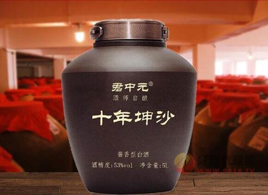 君中元酱香型白酒十五年怎么样,贵州君中元酒如何