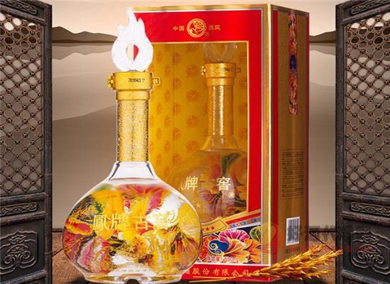 凤牌古窖52度浓香型白酒是纯粮酒吗,好酒纯粮造