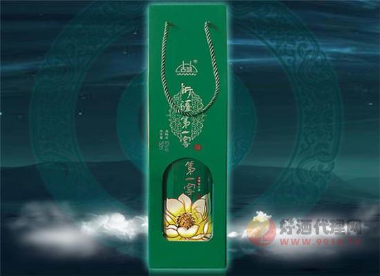 新疆古城第一窖雪蓮花濃香白酒怎么樣,西域雪釀經典白酒