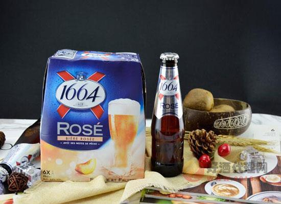 克倫堡1664玫瑰啤酒多少錢,250毫升法國女士啤酒價格