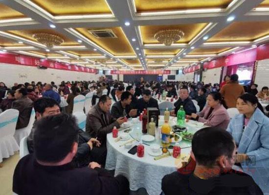 河南朗陵酒業2019客戶答謝會圓滿落幕!