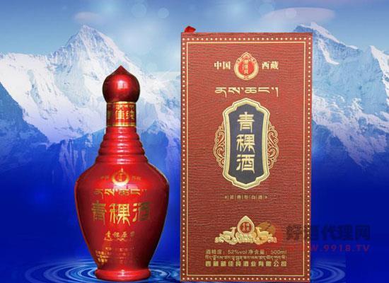 青稞原漿酒52度價格表及圖片