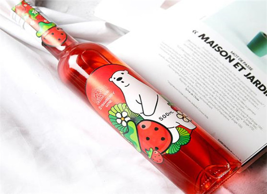 水果酒哪個品牌好,蒂姆莊園草莓酒小酌鮮釀