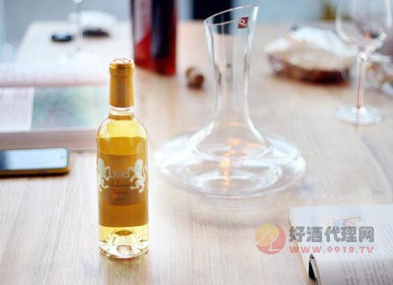 甜白葡萄酒推薦,旭金堡副牌貴腐甜白,治愈系小清新