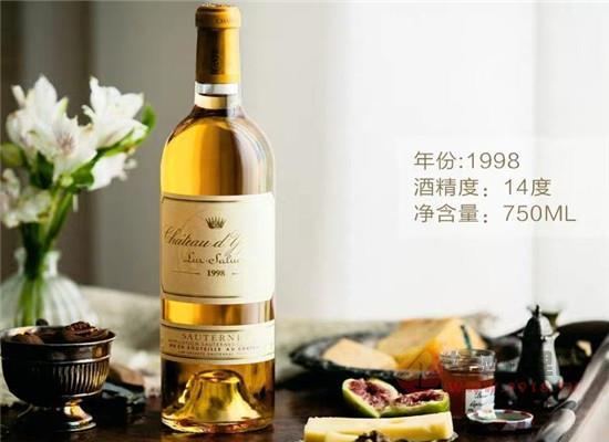 滴金甜白葡萄酒價格,一瓶價格是多少