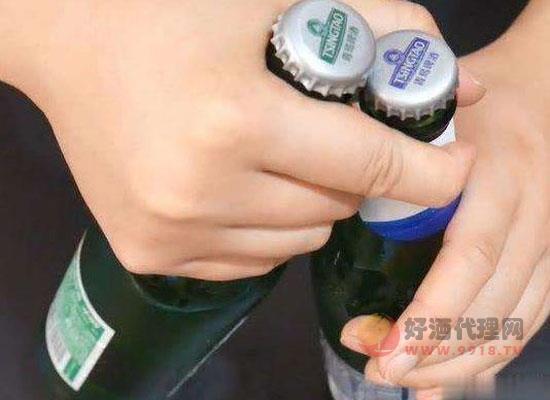 大拇指开啤酒瓶盖教程,技巧开瓶一学就会!
