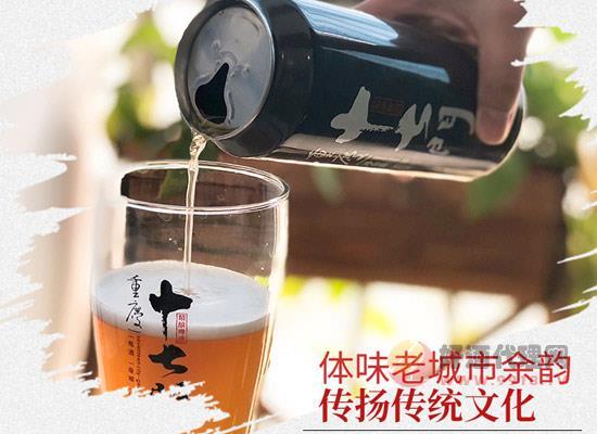 国产精酿啤酒价格贵吗,重庆十七门白啤整箱多少钱