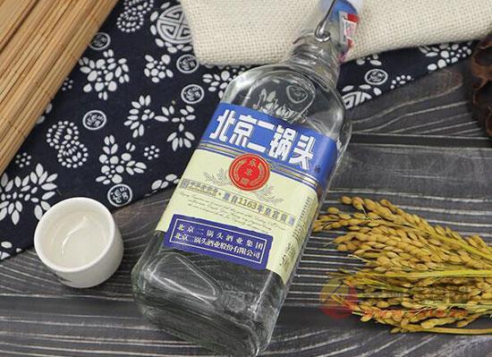 北京二鍋頭小瓶白酒價格表