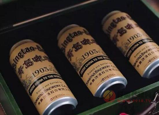 青岛啤酒1903复古罐,百年国潮经典罐装!