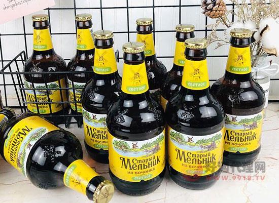 尋一瓶好酒,俄羅斯老米勒啤酒口感怎么樣