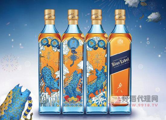 尊尼獲加藍方價格,藍方威士忌多少錢一瓶